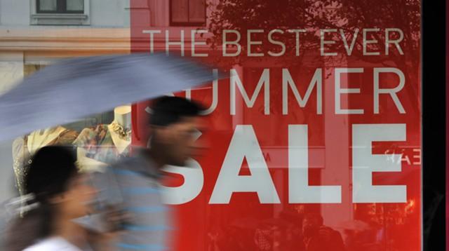 Розничные продажи в Британии выросли в июле