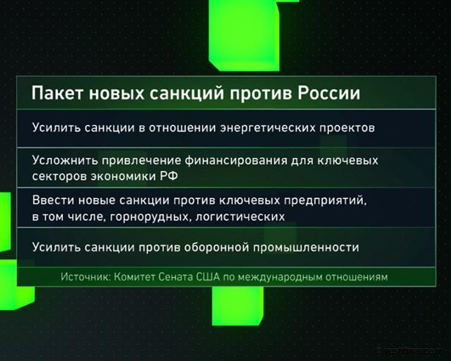 Пакет новых санкций против России