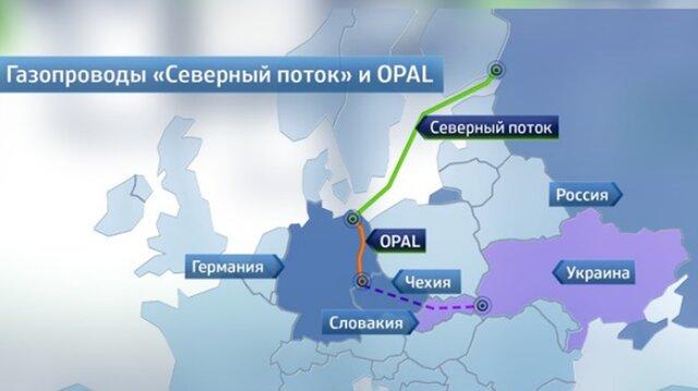 Миллер: поставки в ЕС достигли рекорда за счет Opal