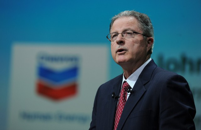Глава Chevron уходит в отставку
