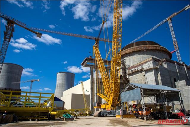 На Белорусской АЭС начали строить энергоблок № 2
