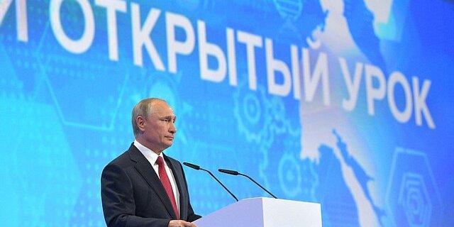 Путин: Российская Федерация  может без Китая создать  мотор  для широкофюзеляжного самолета