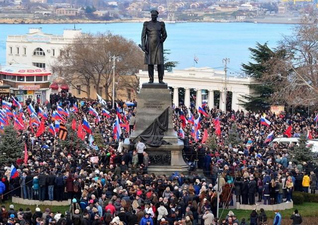 Шульц: Россия не откажется от Крыма