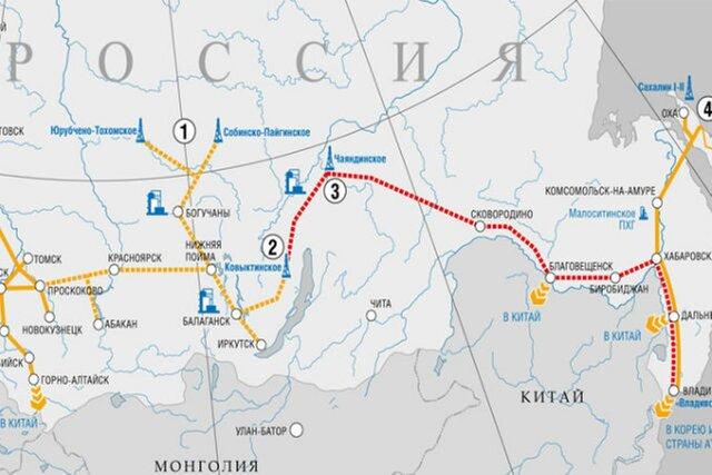 Строительство энергетической инфраструктуры для «Силы Сибири» начнется в предстоящем 2018г.