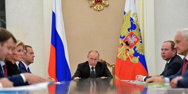 Путин объявил , что русская  экономика вышла изкризиса инабирает обороты