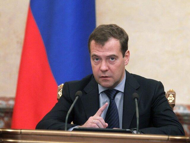 ВВПРФ вырос на1,7% запервое полугодие этого 2017г. — Медведев