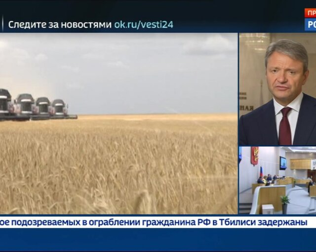 Ткачев: по сбору урожая сохраняем пока консервативный прогноз