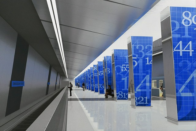В 2018 г. в Москве построят 16 станций метро