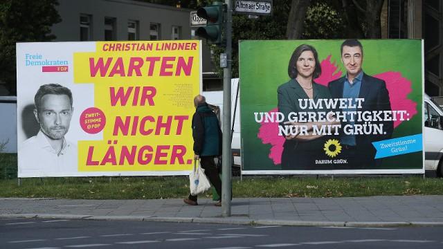 Выборы в ФРГ: борьба за третье место началась