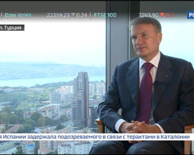 Греф: филиалы Сбербанка на Украине будут проданы