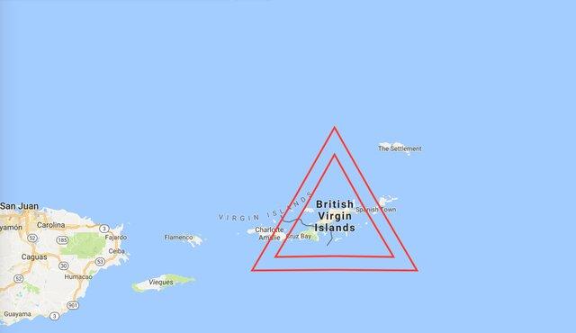 Русские налоговики исключили изчерного списка офшоров английские Виргинские острова