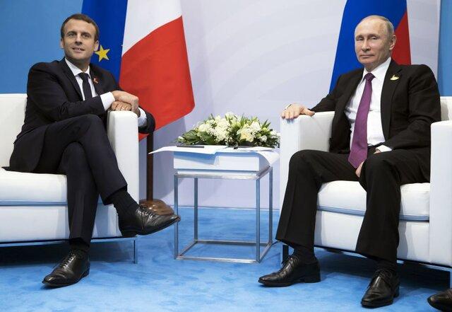 Макрон примет предложение Владимира Путина приехать вРФ после выборов