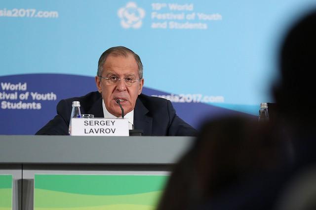 Лавров: РФ ответит США на ограничения российских СМИ