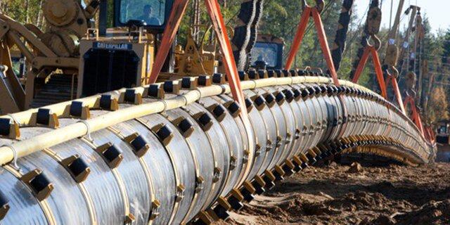ВСША построят два больших газопровода