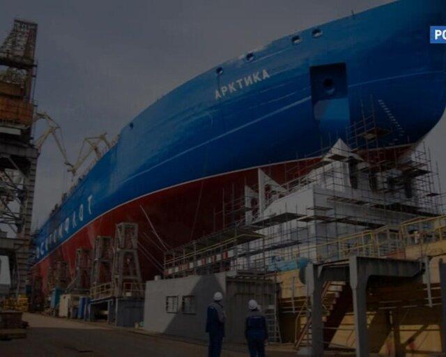 Серийный заказ судов ледового класса на верфях РФ. Главное