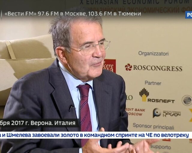 Мнение. Проди: возможности США давить на Европу бесконечны!