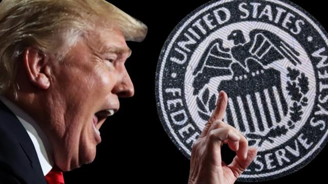Чтобы победить Трампа глубиное государство подключило ФРС