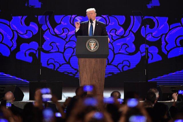 Трамп выступил против злоупотреблений в торговле