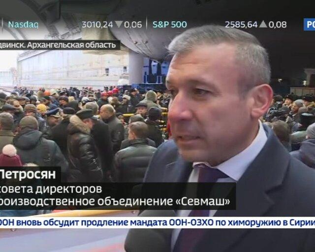 """Петросян: в """"Князе Владимире"""" нет ни одной импортной детали"""
