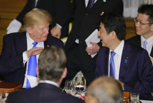 Трамп и Абэ обсудили соглашение о свободной торговле
