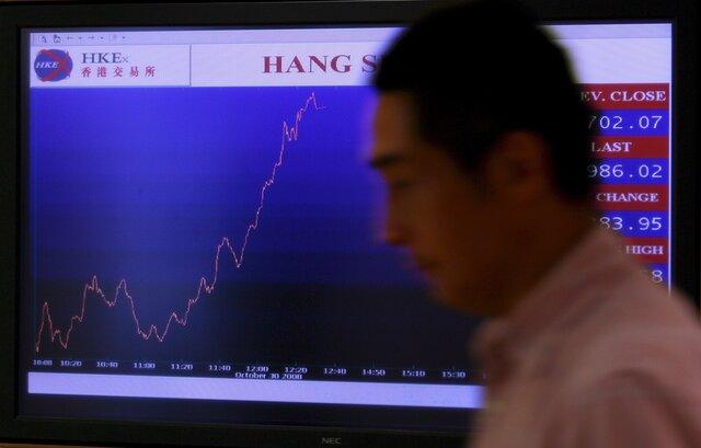 Индекс биржи Гонконга намаксимуме с2007 года