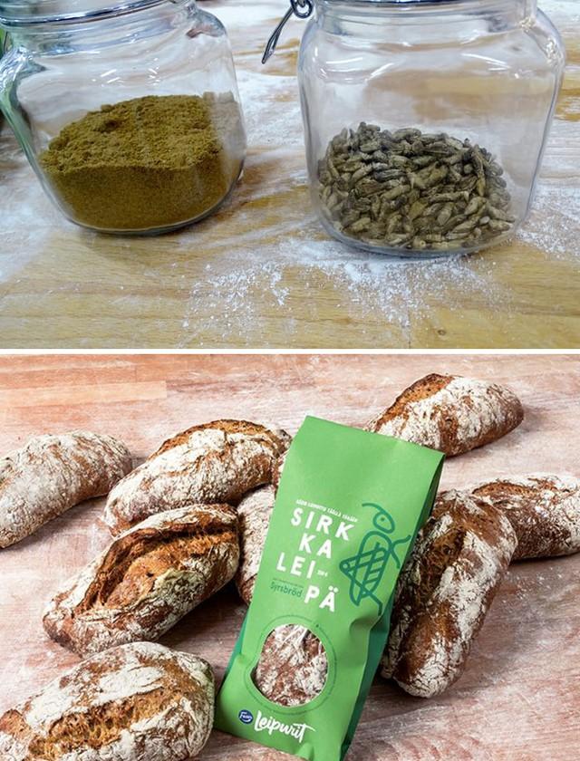 В Финляндии запускают в продажу хлеб с насекомыми