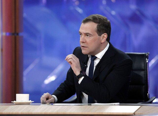 ЭкономикаРФ вошла встадию роста— Медведев