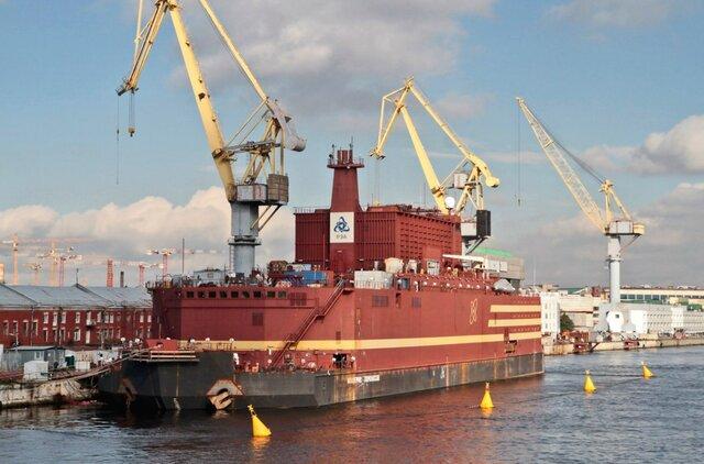 НаБалтзаводе удостоверились вточности сборки турбины плавучей АЭС