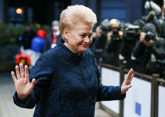 Президент Литвы выступила запродление санкцийЕС против РФ