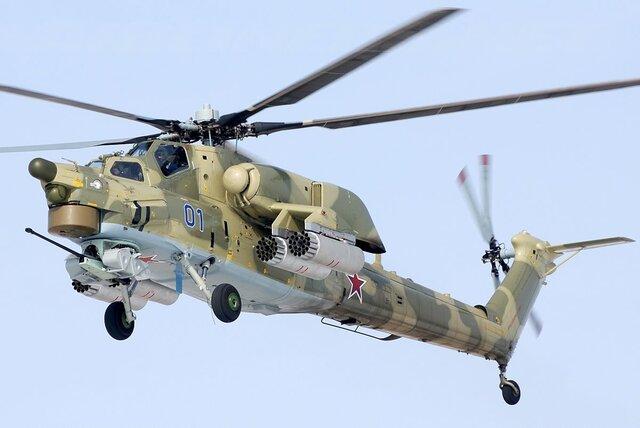 Доконца 2018г. Минобороны получит первые серийные Ми-28НМ