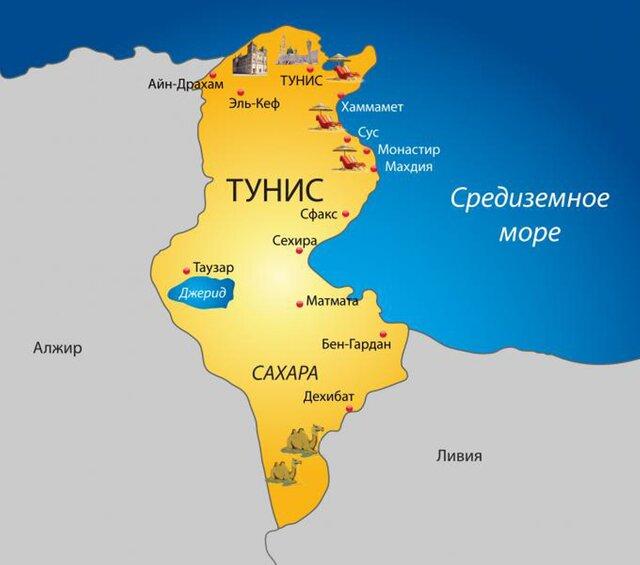 Насевере Туниса впроцессе протестов умер человек