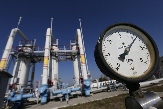 Доступные для добычи запасы газа вгосударстве Украина  составляют 452,8 млрд кубов