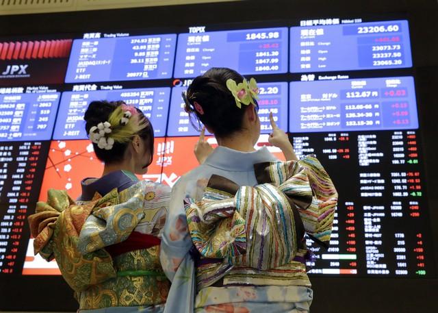 Азиатские акции перешли к росту