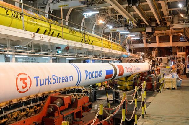 """В Турции начали строить терминал """"Турецкого потока"""""""