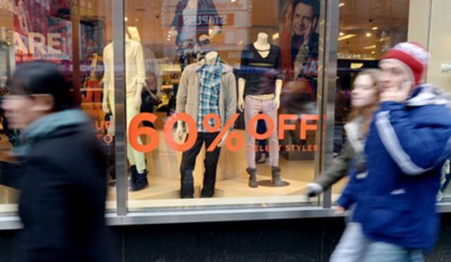 Розничные продажи в Британии упали в декабре на 1,5%