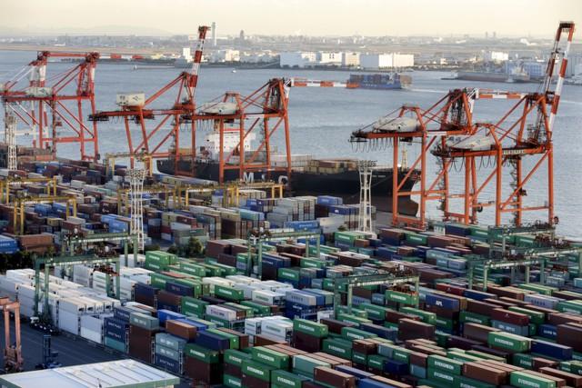 Экспорт из Японии вырос на 9% в декабре