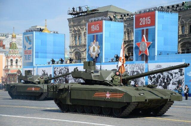 Серийное производство танков «Армата» дляВС РФначнется в 2020-ом