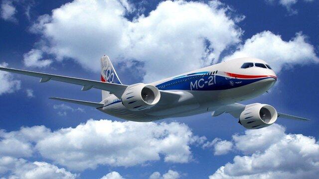 Ростех и«Аэрофлот» договорились опоставках 50 лайнеров МС-21