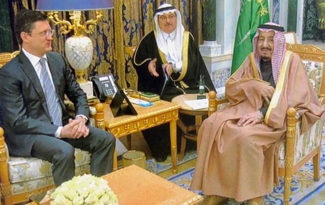 Новак обсудил с королем Саудовской Аравии цену нефти
