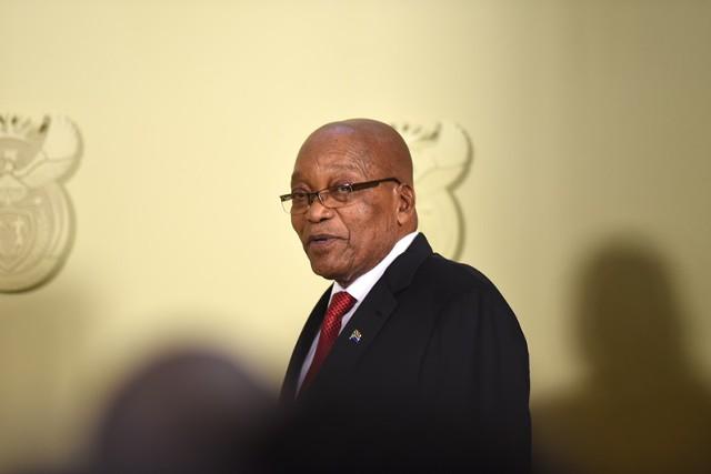 Президент ЮАР Зума объявил об отставке