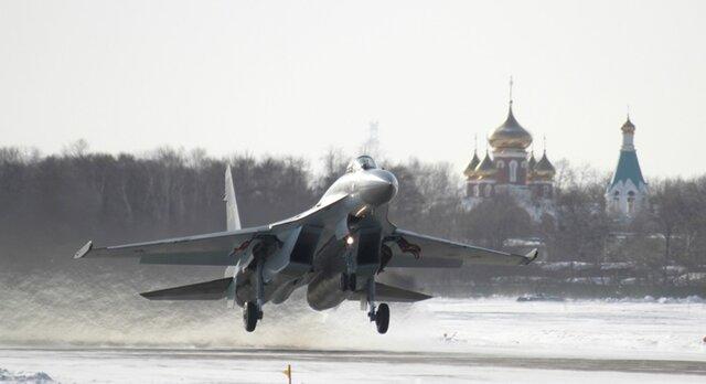 РФ поменяет истребители Су-35 напальмовое масло