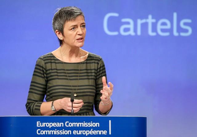 ЕК оштрафовала ряд компаний на 546 млн евро