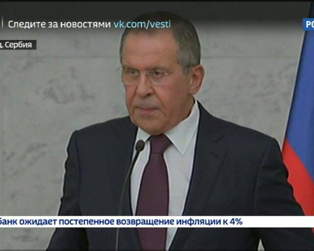 Лавров: киевский режим не собирается выполнять минские соглашения