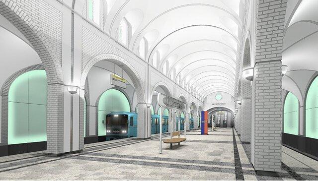 Устанции метро «Селигерская» появится парк сфонтанами ифутбольным полем