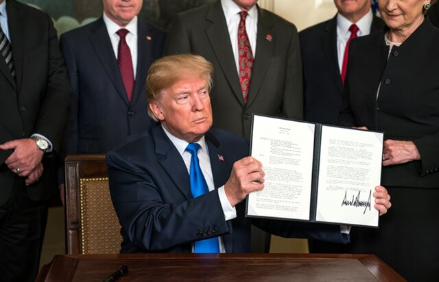 Трамп подписал указ о пошлинах США против Китая