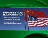 Возможные меры США против Китая