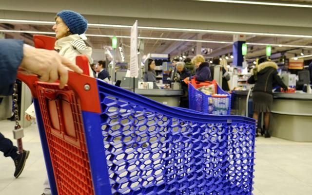 Недельная инфляция в РФ сохранилась на уровне 0,1%