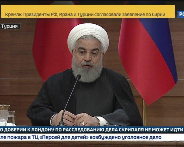 Хасан Рухани: США пытались использовать ИГИЛ в своих интересах