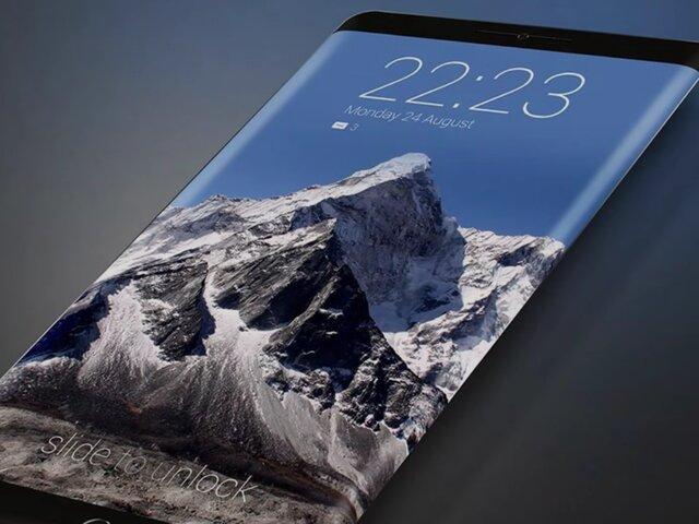Apple разрабатывает вогнутый внутрь экран