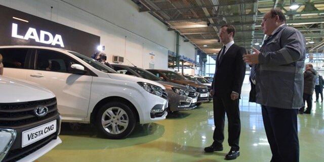 В Российской Федерации на13,9% увеличились продажи легковых авто
